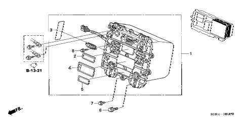 Honda online store : 2005 accord ima battery parts