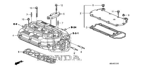 Honda online store : 2008 odyssey intake manifold (2) parts