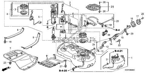 Honda online store : 2013 ridgeline fuel tank parts