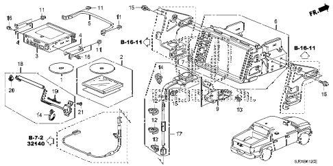 Honda online store : 2006 ridgeline navigation system parts