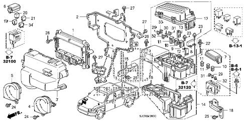 Honda online store : 2009 ridgeline control unit (engine