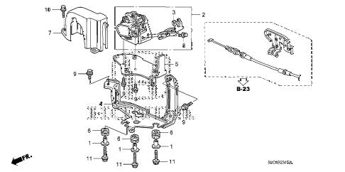 Honda online store : 2007 ridgeline accelerator sensor parts