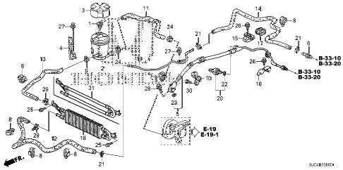 Honda online store : 2006 ridgeline p.s. lines parts