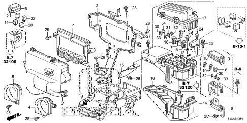 Honda online store : 2014 ridgeline control unit (engine