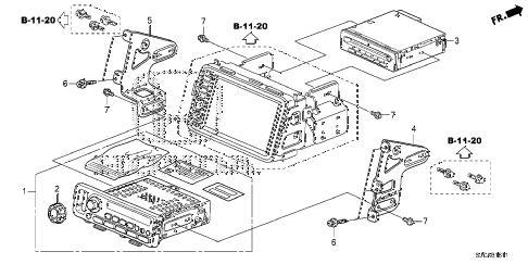 Honda online store : 2014 ridgeline audio unit (2) parts