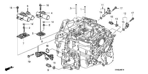 Honda online store : 2007 fit at solenoid parts