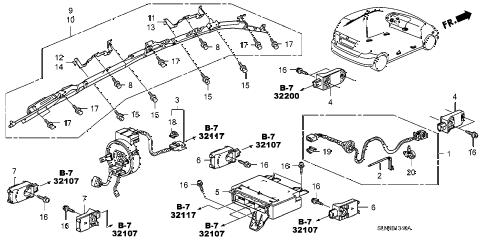 Honda online store : 2007 fit srs unit parts