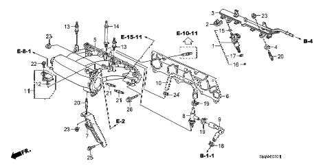 Honda online store : 2009 civic intake manifold (2.0l) parts