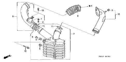 Honda online store : 2006 civic resonator chamber (1.8l) parts