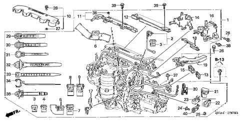 Honda Engine Wiring Harness • Wiring Diagram For Free