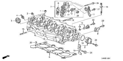 Honda online store : 2008 civic spool valve (1.8l) parts