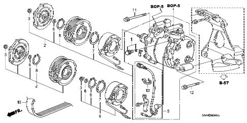 Honda online store : 2008 civic a/c compressor parts