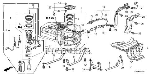 Honda online store : 2009 crv fuel tank (ka) (kc) parts