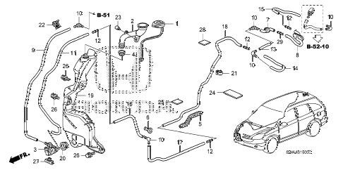 Honda online store : 2007 crv windshield washer (1) parts