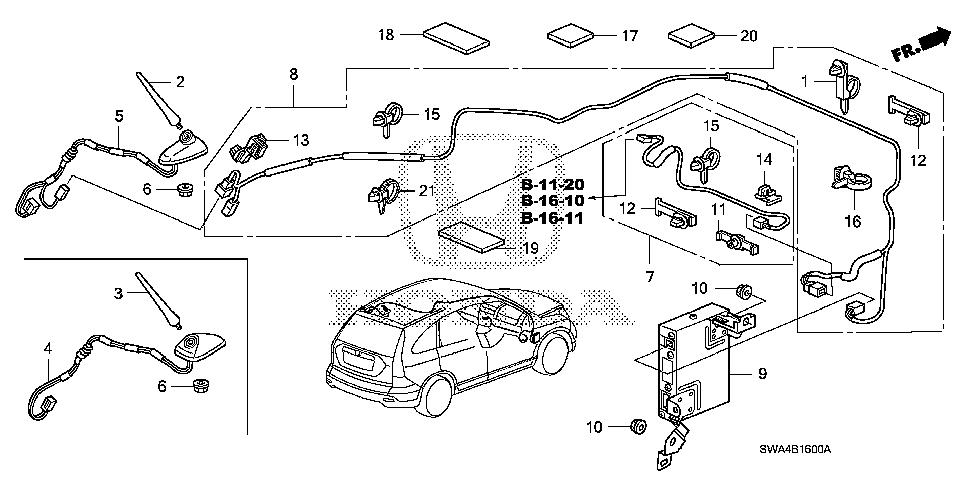 2007 Honda Cr V Wiring Diagram