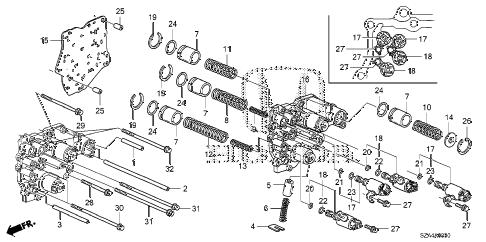 Honda online store : 2015 pilot at accumulator body parts