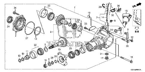 Honda online store : 2012 pilot at transfer parts