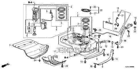 Honda online store : 2013 pilot fuel tank (ka/kc) (2) parts