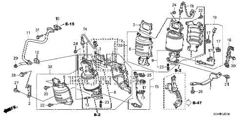Honda online store : 2012 pilot converter parts