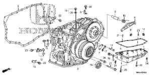 Honda online store : 2016 crv at transmission case (cvt) parts