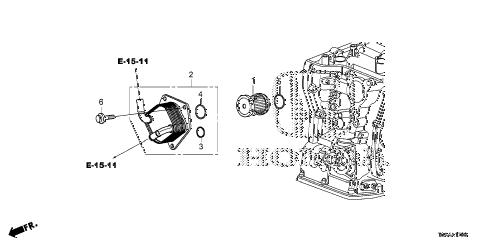 Honda online store : 2015 crv at atf warmer (cvt) parts