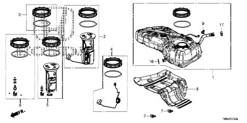 Honda online store : 2013 crv fuel tank (ka/kc) parts