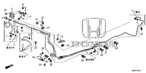 Honda online store : 2016 crv fuel pipe (ka/kc) ('15-) parts