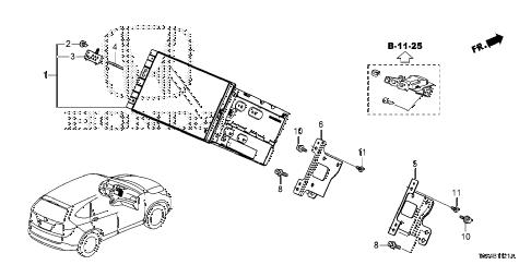 Honda online store : 2015 crv navigation system (2) parts