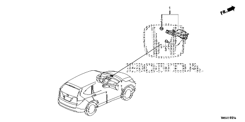Honda online store : 2016 crv gps antenna parts