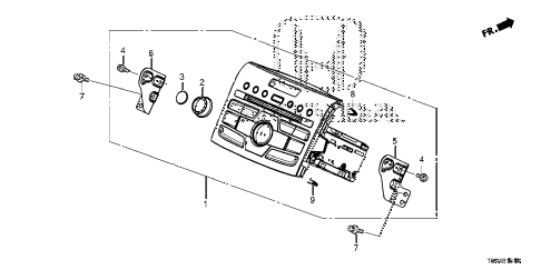 Honda online store : 2012 crv auto radio parts