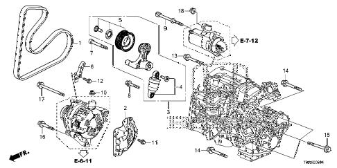 Honda online store : 2015 crv auto tensioner ('15-) parts