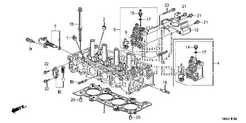 Honda online store : 2014 crv spool valve (-'14) parts