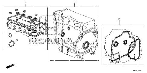 Honda online store : 2014 crv gasket kit (-'14) parts