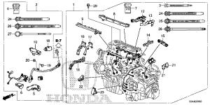 32110R5AA50 | WIRE HARNESS, ENGINE  Bernardi Parts