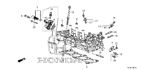 Honda online store : 2013 accord vtc oil control valve (l4