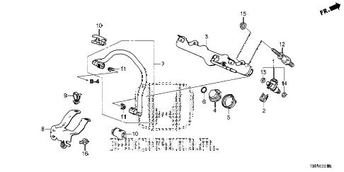 Honda online store : 2014 accord fuel injector parts