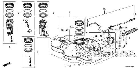 Honda online store : 2016 fit fuel tank (ka/kc) parts