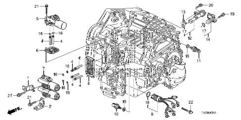 Honda online store : 2008 accord at solenoid (l4) parts