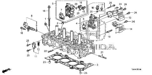 Honda online store : 2010 accord vtc oil control valve (l4