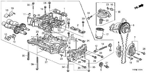 Honda online store : 2008 accord oil pump (l4) parts