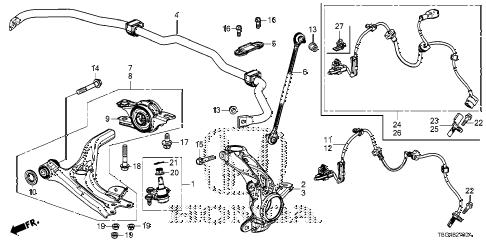 Honda online store : 2016 civic knuckle parts