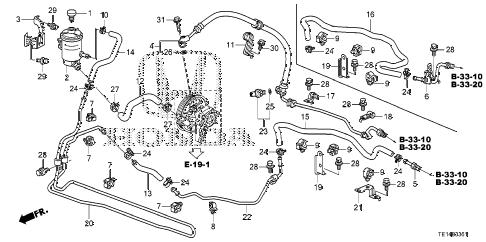 Honda online store : 2012 accord p.s. lines (v6) parts
