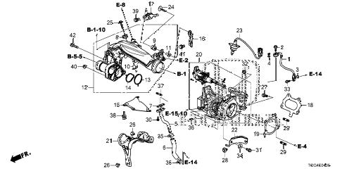 Honda online store : 2018 civic turbocharger parts