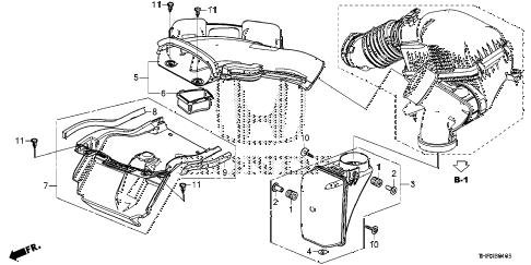 Honda online store : 2018 odyssey resonator chamber parts