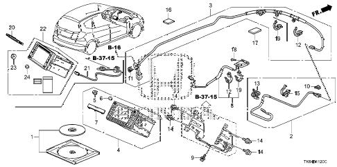 Honda online store : 2010 fit navigation system parts