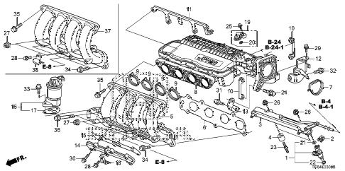 Honda online store : 2012 fit intake manifold parts