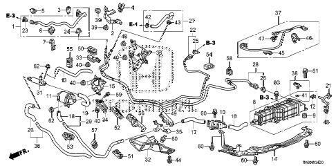 Honda online store : 2013 fit fuel pipe (ka/kc) parts