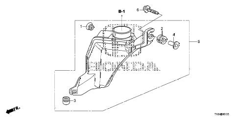 Honda online store : 2011 odyssey resonator chamber parts
