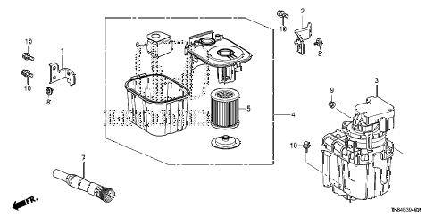 Honda online store : 2014 odyssey vacuum parts