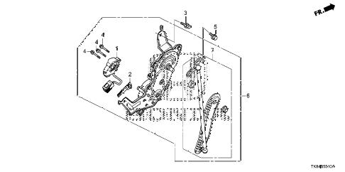 Honda online store : 2011 odyssey power tailgate motor parts